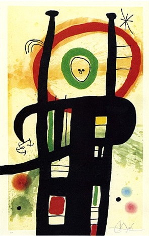 le grand ordonnateur by joan miró