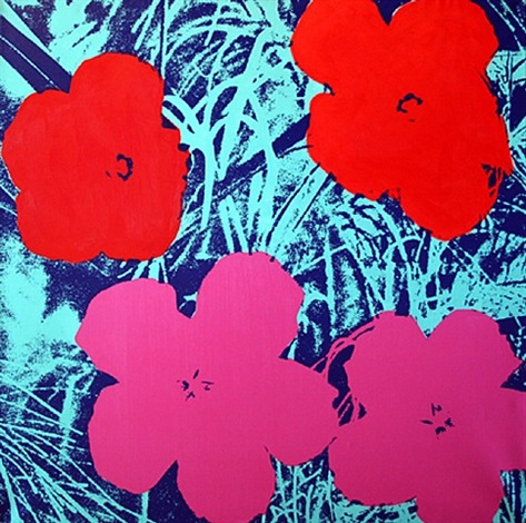 flowers for andy (ix) by donald sheridan
