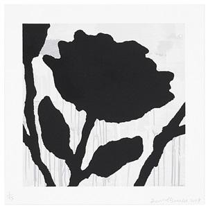 flower studies (image 2) by donald baechler