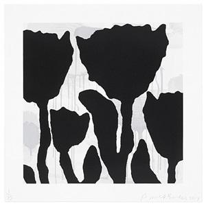 flower studies (image 3) by donald baechler