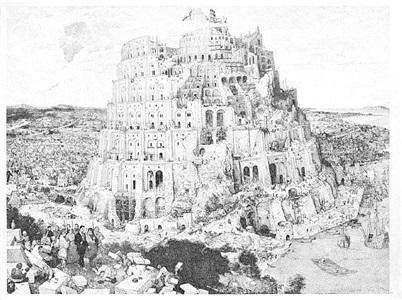 serie e #3 (bruegel) by christian messel