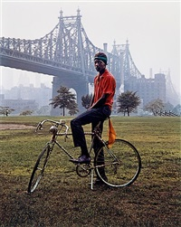 queensboro bridge, new york by evelyn hofer
