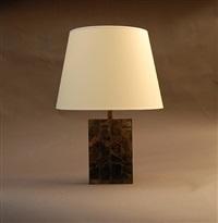 lampe en mica by jean-michel frank