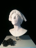 free standing bust by nicolas africano