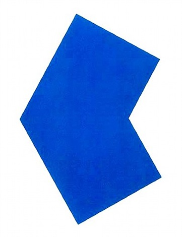 blue by ellsworth kelly