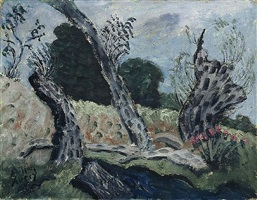 landscape by milton avery