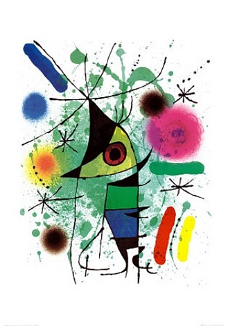 fish by joan miró