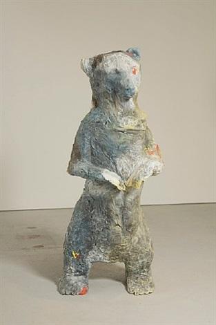 single bear (polyester) by anne chu