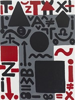 vorstoß (advance) by a.r. penck