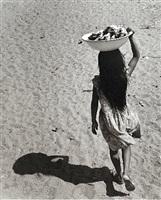 niña sombra (shadow girl), santa maría de mar, oaxaca by rodrigo moya