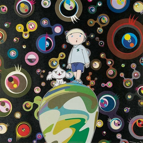 jellyfish eyes max shimon in the strange forest by takashi murakami