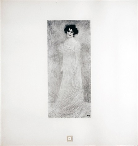 portrait of serena lederer from <i>aftermath</i> by gustav klimt