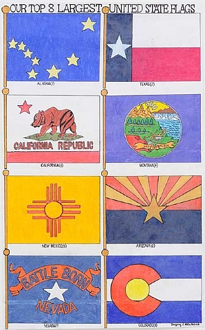 our top 8 largest united states flags by gregory blackstock