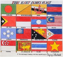 the east indies flags by gregory blackstock