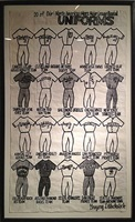 20 of our north american men's major league baseball uniforms by gregory blackstock