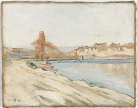 an der jonction by ferdinand hodler