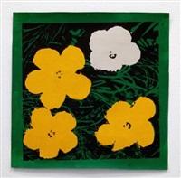 warhol flower by sturtevant