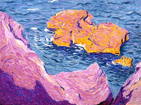 rock in the sea by e. ambrose webster