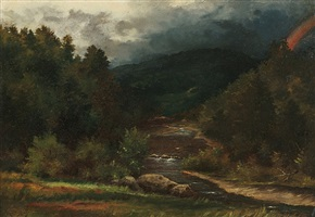 the rainbow by george inness
