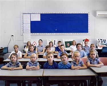 schoolchildren, weethalle, new south wales, australia by amy stein and stacy arezou mehrfar