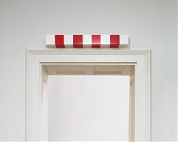 photo-souvenir : la barre haute (high bar), édition by daniel buren