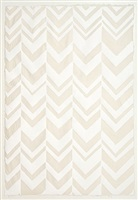 white chevron by teresa cole