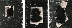 senza titolo (trittico) by jannis kounellis