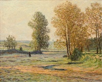 gelée blanche en automne by maxime maufra