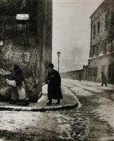isaac street, kazimierz, cracow by roman vishniac