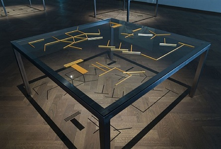 work table / game table n.º2 by pedro barateiro
