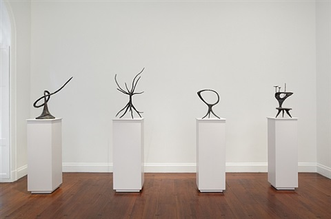 installation view: calder: the complete bronzes by alexander calder