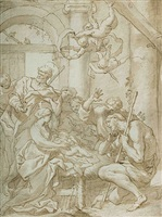 adoration of the shepherds by domenico piola