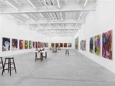 exhibition view by josh smith