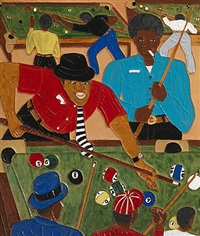 winfred's pool room by winfred rembert