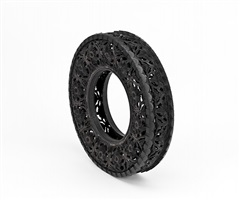 wim delvoye: untitled (car tyre)