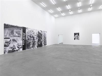installation view: la société du spectacle, sprüth magers berlin