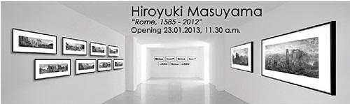 hiroyuki masuyama 'rome, 1585 - 2012'