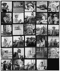 james dean contact sheet from