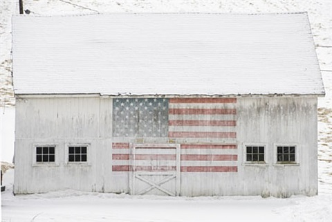 white barn, new preston, ct, 2007 by bill eppridge