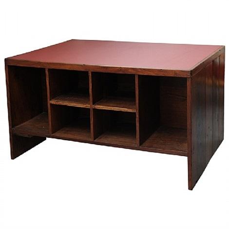 madagascar desk by pierre jeanneret