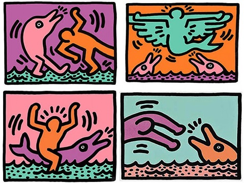 pop shop v by keith haring