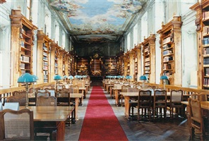 nationalbibliothek wien i by candida höfer