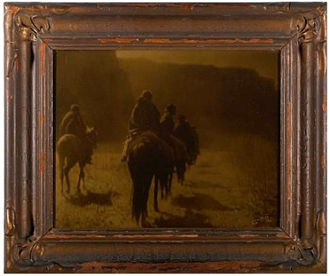 the vanishing race navaho by edward sheriff curtis