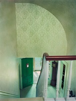 untitled interior (green stairwell) by sarah malakoff