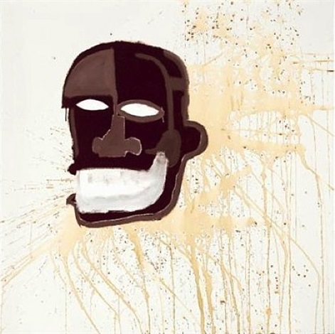 untilted head by jean-michel basquiat