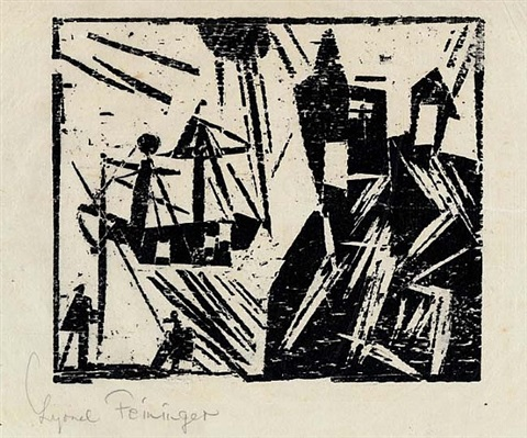 coast guard by lyonel feininger