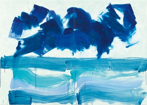 stormy weather by howard hodgkin