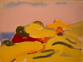 little yellow dune by paul resika
