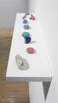 untitled (group of 10 erasers) by david adamo