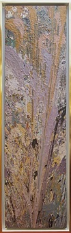 composition lavender by larry poons